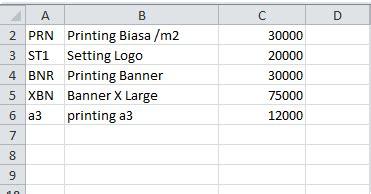 membuat barcode di excel 2010 cara membuat nota pada excel tips excel