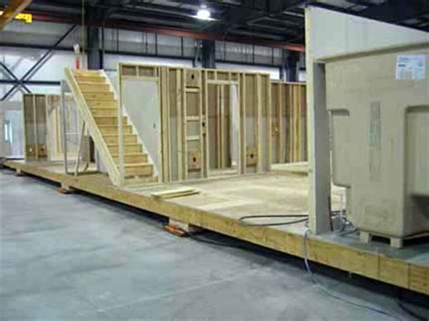 Mobile Home Interior Walls File Interior Walls Set On Modular Home Floor System Jpg
