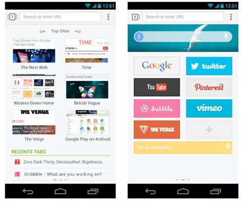 next browser for android next browser le navigateur de l 233 quipe go launcher dev frandroid