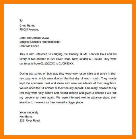 Reference Letter From Your Landlord 8 Landlord Reference Letter Janitor Resume