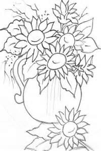 Van Gogh Flowers In Vase Desenhos Para Pintura Em Telas Temas Para Colorir E