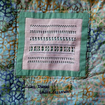Embroidery Pulled Thread Free Embroidery Patterns