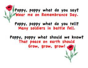 Poppy Wall Stickers grade onederful remembrance day activities