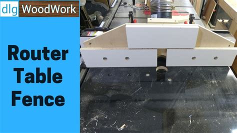 build router table fence youtube