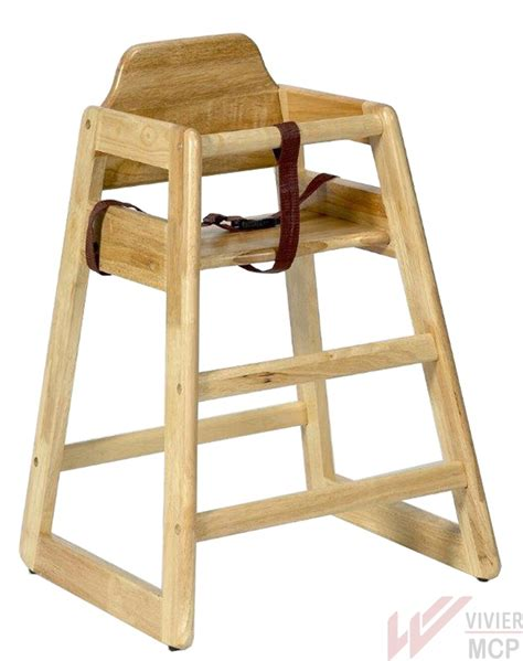 chaise haute enfant bois chaise haute pour restaurant en bois chaise haute
