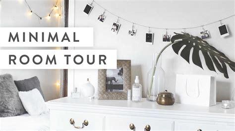 Minimalist Bedroom Tour Minimalist Room Tour Doovi