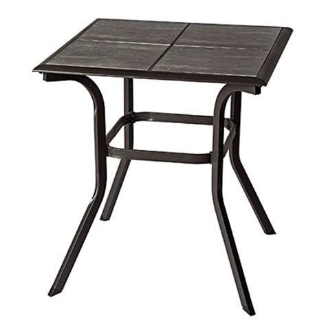 Tile Top Bistro Table View Wilson Fisher 174 Monterra 25 Quot Square Tile Top Bistro Table Deals At Big Lots