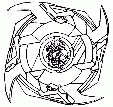 Beyblade Coloring Pages Pictures To Colour