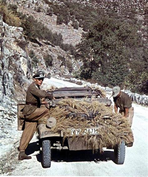 world war ii in color world war ii in color k 252 belwagen in sicily