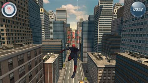 swinging on line an online game to promote amazing spider man 2