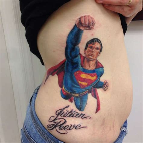 supergirl tattoo designs 27 awesome superman tattoos designs