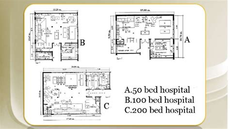 hospital floor plan design hospital design