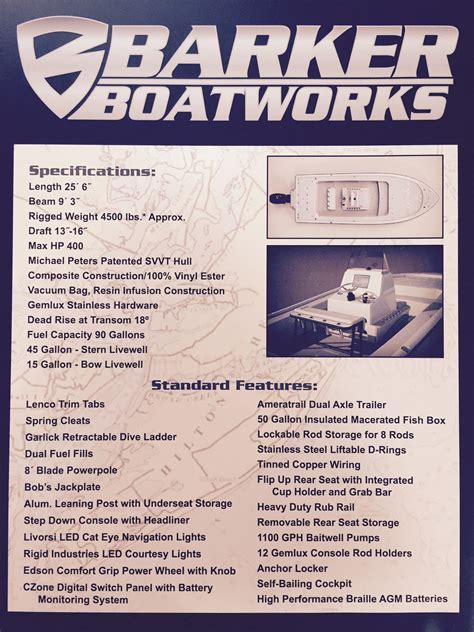 miami boat show rumors 2015 barker boatworks 26 calibogue bay bay boat miami