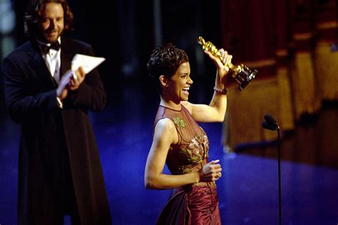 No Halle At The Oscars by Why Halle Berry Says Historic 2002 Oscar Win Is Now