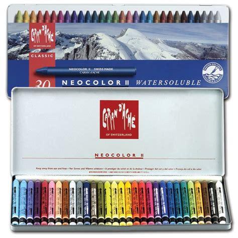 Crayon Carandache 40 Neocolor 1 caran d ache neocolor ii crayon sets jerry s artarama