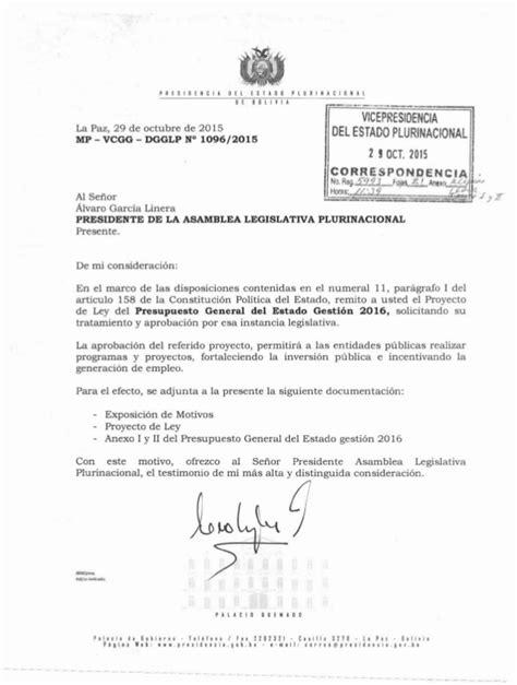 ley del isan 2016 proyecto de ley del presupuesto general del estado 2016