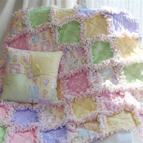 Rag Quilt Pattern Baby by Baby Rag Quilt With Easy Tutorial The Whoot