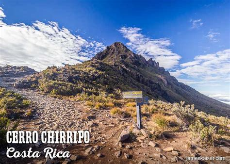 Cost Plan by Hiking Cerro Chirrip 243 Costa Rica 2018 Guide James Kaiser