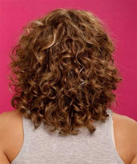 Shoulder Length Layered Natural Curly Haircuts With Front And Back Pictures | 20 naturally curly short hairstyles short hairstyles