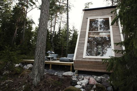 Small Homes The Right Size Swedish Micro House Tiny House Swoon
