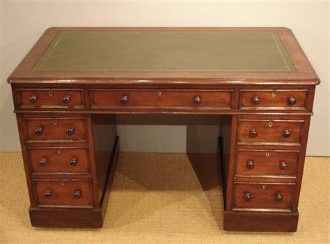 Writing Desk Furniture Antique Pedestal Desk Victorian Mahogany Desk Antique