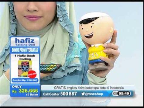 Hafiz Talking Doll Boneka Hafiz Talking Doll Cd Edukasi Parentin hafiz talking doll mnc shop product