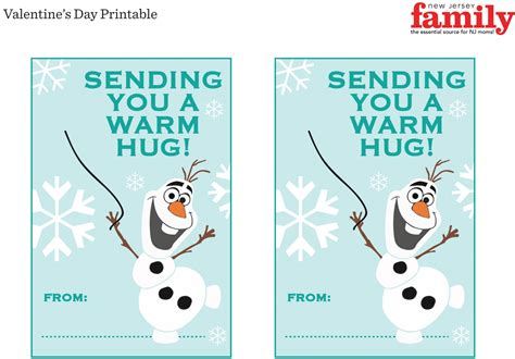 olaf printable valentines day cards free printable valentines frozen olaf car interior design