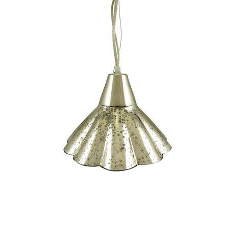 Fluted Glass Pendant Light 10 5 Quot Mercury Glass Fluted Hanging Pendant Ceiling L Ebay