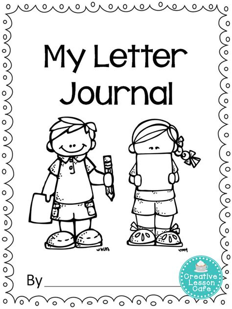 math journal coloring page creative lesson cafe march 2014