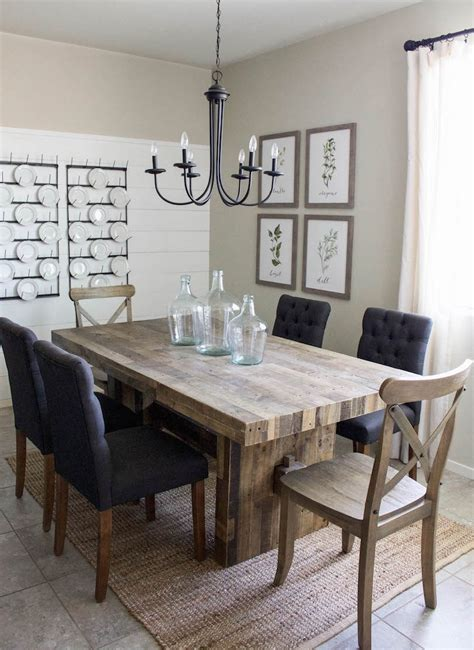 modern farmhouse dining room modern farmhouse dining room diy shiplap home sweet