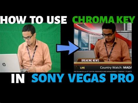 sony vegas pro green screen tutorial green screen tutorial breakdown sony vegas pro 13