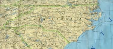 map of carolina with cities and towns mapa estado de carolina norte estados unidos 1990