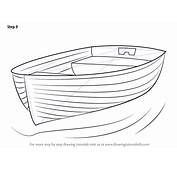 Step By How To Draw Boat At Dock