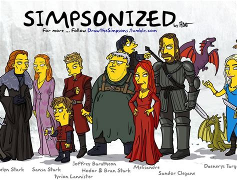 Simpsons Of Thrones by Gq