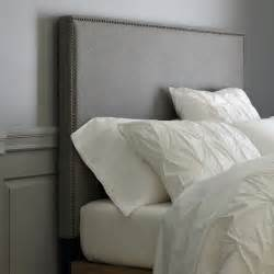 West Elm Headboard How To Make A Nailhead Upholstered Headboard House Updated