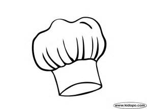 chef hat printable template chefs hat coloring page