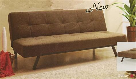 Delray Sofa by Delray Sofa Bed In Brown Microfiber Cover By Acme 5736