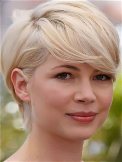 haircuts make me nervous michelle williams she makes me want to get a pixie cut