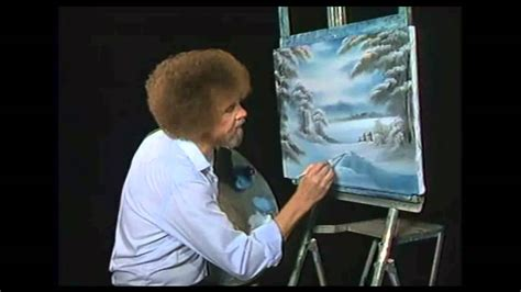 bob ross paintings on display happy secrets about bob ross most viewers never