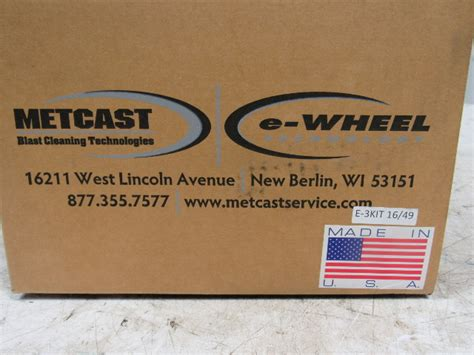 Wheels Bulls Eye Blast metcast tune up kits for blast wheels 16 quot e 3kit 49