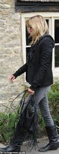 Starry Starry Kate Moss Celebrates Turning 34 by Kate Moss Displays Driving Skills On Lunch Date With