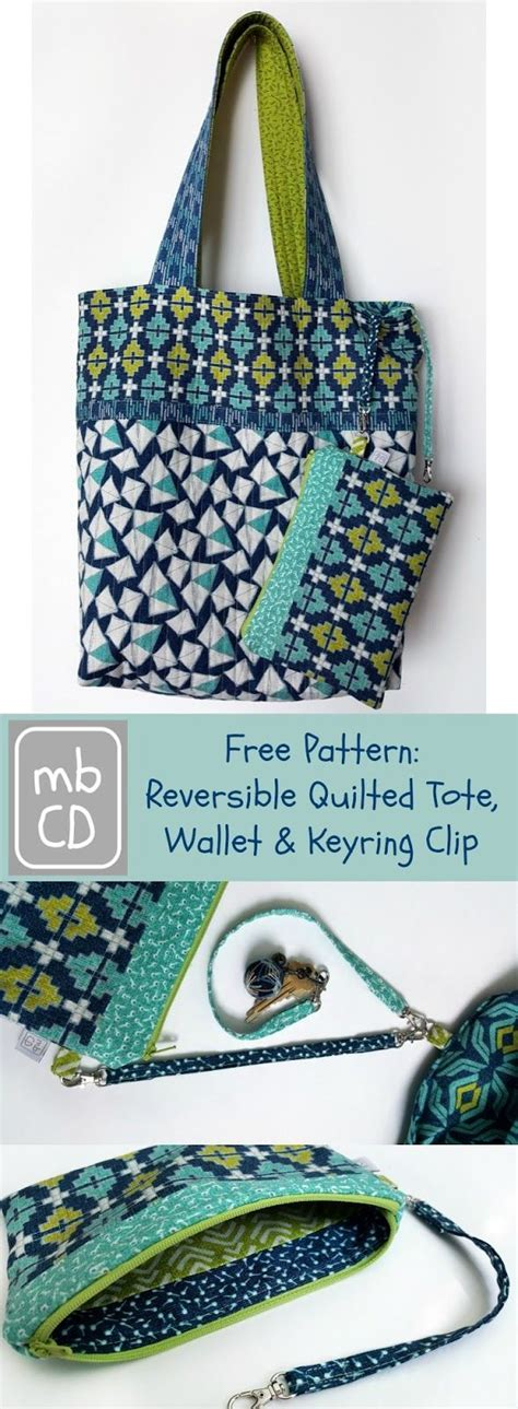 reversible tote bag pattern free made by chrissied free pattern reversible tote wallet
