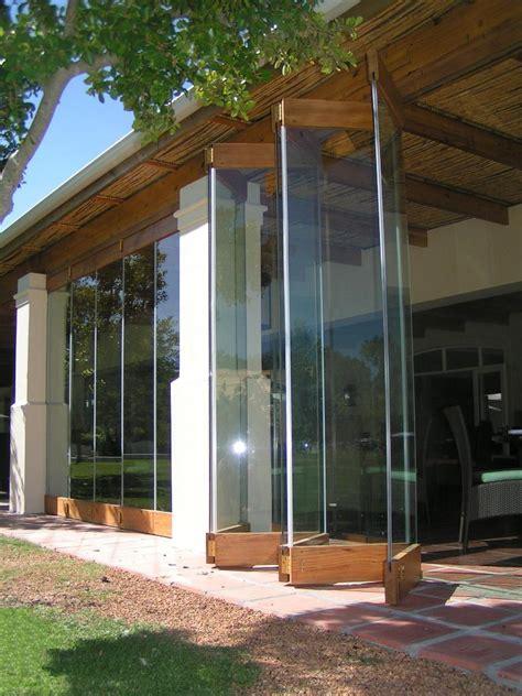 Frameless Patio Doors Wooden Frameless Stacking Doors Forest Creations