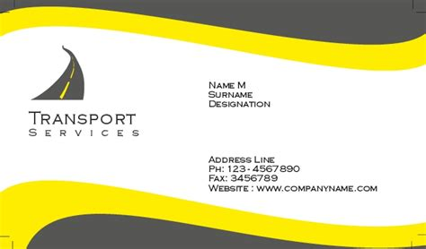 transport business cards templates free transport business cards templates free 28 images