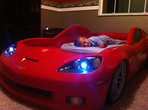 corvette toddler bed mustang forum mustang world corvette bed for kids pic