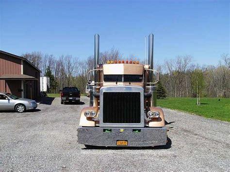Sale Topi Trucker Custom 1985 peterbilt 359 exhd semi truck tandem axle for sale