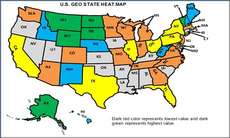 map of america that can be edited how to edit colors by data range in u s state heat map
