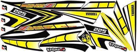 Dekal Stiker Klx 150 D A1 073 Striping Stiker Motor Yamaha Scorpio Z Spies