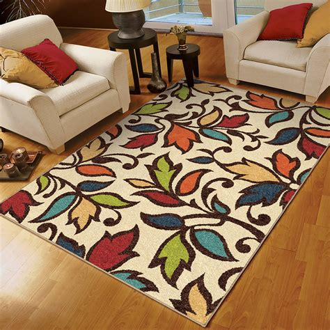 Room Size Rugs Walmart by Add Design To Your Space With Walmart Rugs Floral