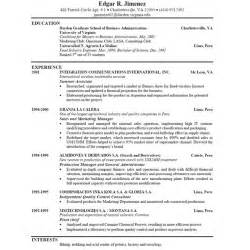 ms word combination resume templates
